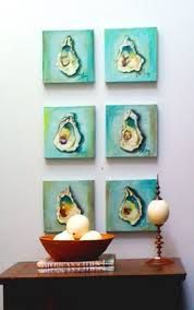 oyster shell painting - Google Search