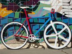 Kidrobot x Nemesis Project Fixed Gear Bike