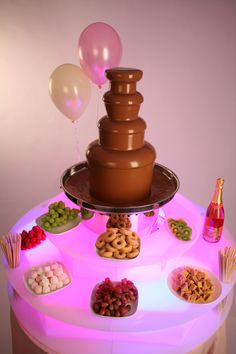 Having a Hog Roast or Buffet Food at your Party?  Then a Chocolate Fountain is a must have too.  Book yours now!!