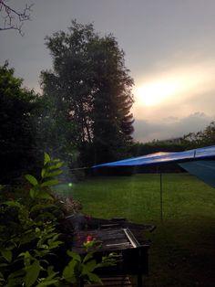 Gigliata con tramonto