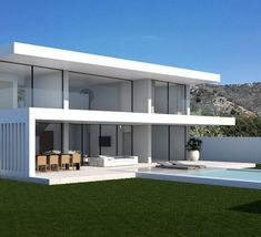the parallax house design by Modern Villas (1)