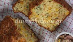 25΄ 45΄ 6 – 8μερίδες –  Σερβίρω το πεντανόστιμο αυτό αλμυρό κέικ σαν ελαφρύ γεύμα με μια πράσινη σαλάτα ή με ντοματοσαλάτα. Κόβω σε μικρά κυβάκια και το σερβίρω με το απεριτίφ. …