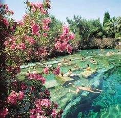 Fethiye Hisaronu Oludeniz to Pamukkale and Hierapolis day trip Pamukkale, Turkey Destinations, Travel Destinations, Marmaris Turkey, Places To Travel, Places To Visit, Thermal Pool, Thermal Baths, Hipster
