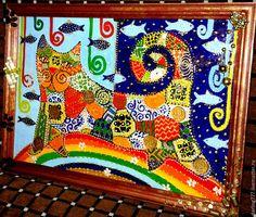 Купить Кот денежный. Талиман работающий на 100%. - разноцветный, денежный кот, денежный талисман, денежный