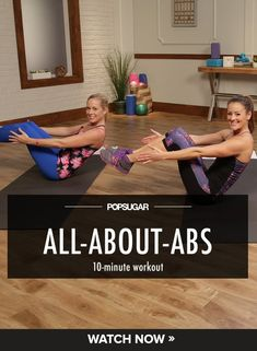 Just did this workout, and my abs are killing me! Grab two towels or paper plates for a couple of the exercises, and you are ready to go! The Ultimate Ab Workout For Your Skimpiest Bikini 10 Minute Ab Workout, 10 Minute Abs, Abs Workout Video, Exercise Videos, Workout Tips, Fitness Workouts, Gewichtsverlust Motivation, Ab Workouts, Free Fitness