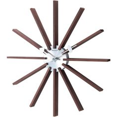 George Nelson Square Spindle 19.25 in. Wall Clock