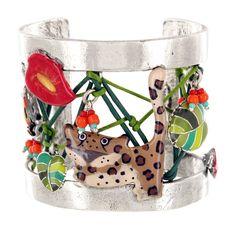 Bracelet rigide TARATATA. Bijoux créateurs. En vente en boutique et sur notre site internet : http://www.bijouterie-influences.com/search.php?search_query=Leo+taratata