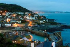 AT NIGHT | Mousehole, Cornwall ✫ღ⊰n