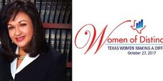 County Attorney Jo Anne Bernal Presented with Women of Distinction Award