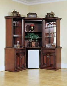 Augustine Back Bar Hutch American Heritage Http://www.amazon.com/