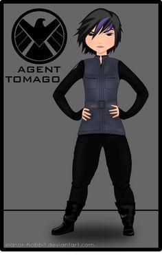 Agent Tomago [BH6/SHIELD crossover] by Elanor-Hobbit.deviantart.com on @DeviantArt