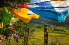 Prayer Flags and Bhutan