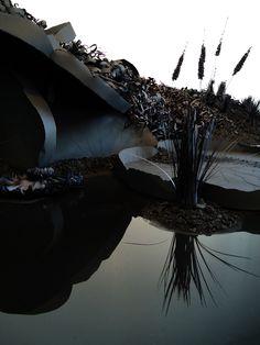 Fields of Black Paper Flowers Create a Striking Landscape - My Modern Metropolis