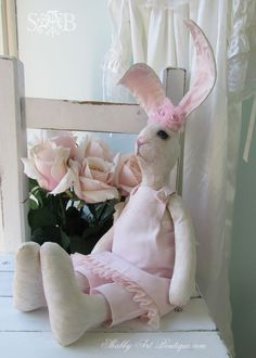Shabbilicious bunny love - Shabby Art Boutique