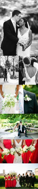 Manhattan Loft Wedding by Lindsay Madden Photography