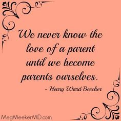 ❤️ This is so true. I all of a sudden understood why my parents made the decisions they made. I understood what it really took to be a mother and to love and nourish a little, beautiful human. She has made me the person I am today and I will forever be grateful for her. She's the reason Im alive. She has taught me more about life in 6 years than I knew in 19 years. Absolutely my pride and joy ❤️