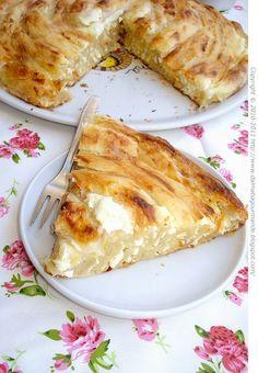 Dalmatia Gourmande: Bosanska sirnica (izgubljeni bakin recept)/Bosnian cottage cheese phyllo pie (grandma's lost recipe)