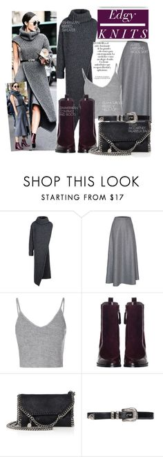 """Edgy Knits with Chriselle Lim"" by nfabjoy ❤ liked on Polyvore featuring STELLA McCARTNEY, James Lakeland, Arco, Glamorous, Zimmermann, StreetStyle, BloggerStyle and StellaMcCartney"