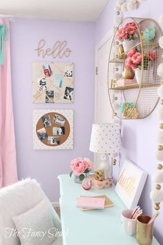 Find and save ideas about Girl room decor on Pinterest. | See more ideas about Girl room, Girl rooms and Girls bedroom.