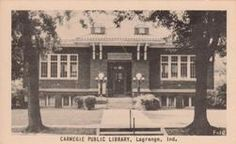 Lagrange, IN Carnegie library