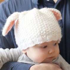 We Like Knitting: Little Lamb Hat - Free Pattern