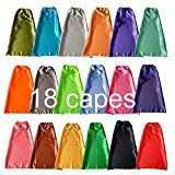 YIISUN Children Party Dress Up Capes Set of 18