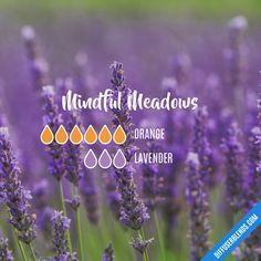 Mindful Meadows - Essential Oil Diffuser Blend #Essentialoildiffusers