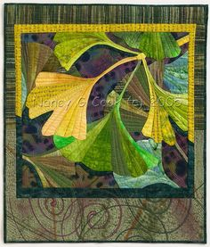 Nancy Cook - Fiber Art, Mixed Media and Art Quilts - Portfolio: Trees...would make a wonderful mosaic