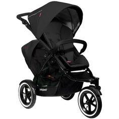 Phil & Teds Navigator Double Stroller (Black)