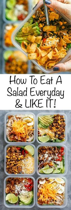How To Eat Salad Everyday & LIKE IT! (aka the Fritos everyday diet!) get the recipes here!