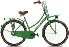 Vogue Elite - Transportfiets - Dames - Groen - 50 cm