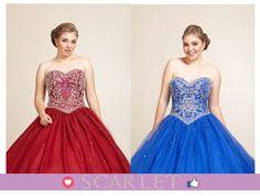 4e7be7d57 ¡Vestidos divinos para tus XV años! ¿cuál usarías para el gran día  vs Vota  por tu favorito 😍hermosos😍