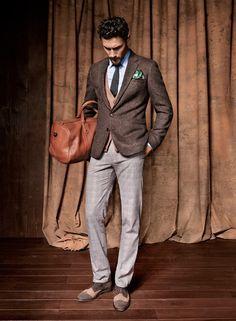 Klasik & Spor Karışımı Erkek Giyim Modası