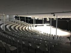 Rolex EPFL Lausanne learning center_2 Lausanne, Cultural Center, Learning Centers, Acoustic, Switzerland, Rolex, Innovation, Curtains, Interior