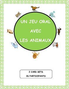 Jouez au cercle magique pour pratiquer et réviser le vocabulaire des animaux