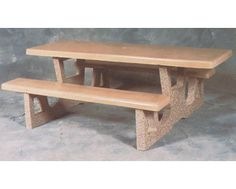 concrete table $819.85/10