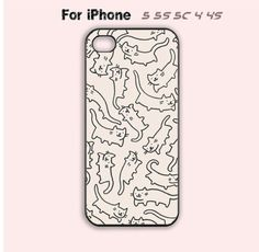 Cats Phone Case for iPhone 5s 5c 4s 4