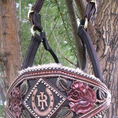 Image result for custom tooled leather bronc halters name template custom made bronc halter maxwellsz