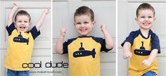 Re-Purposing: Baseball Style Tee from Men's Tshirts