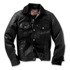 www.Filson.com | Filson's oil finish tin cloth + Levi's timeless jacket design = Oil Finish Trucker Jacket