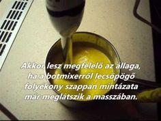 Levendulás szappan készítése otthon_www.anyazon.hu - YouTube