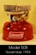 How to Rebuild a Coleman® Two or Three Burner Stove: Lesson One, Disassembly: Old Town Coleman