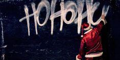 Funny Santa ho ho ho gif