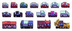Cute vehicles