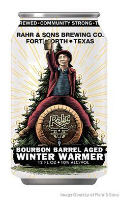 Rahr & Sons Brewing To Release Bourbon Barrel-Aged Winter Warmer Aged in Jack Daniel's Barrels
