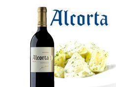 Patatas Ali-Oli con Alcorta Reserva. Una intensidad de sabores perfecta.