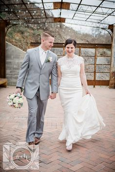 Bride and groom first look pictures at The Standard in downtown Knoxville by Amanda May Photos