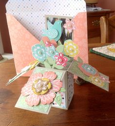 Card in a Box with Envelope