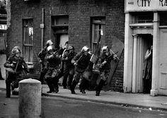 Londonderry, Irlanda del Norte, 1971. Fotografía de Don McCullin