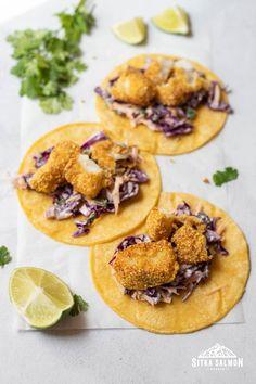 Rockfish Recipes, Halibut Recipes, Cod Recipes, Seafood Dishes, Fish And Seafood, Seafood Recipes, Pacific Cod, Fish Tacos, Pie Dish